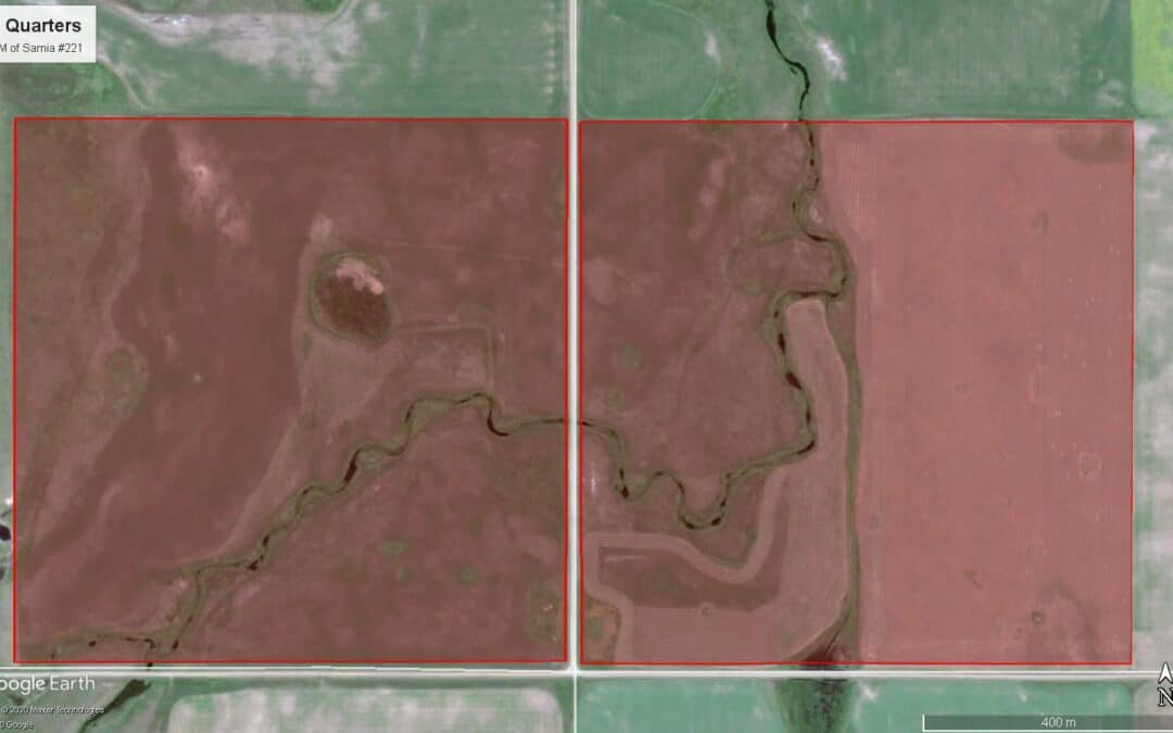Price Reduced! Two Quarters of Mixed Land Near Penzance, SK