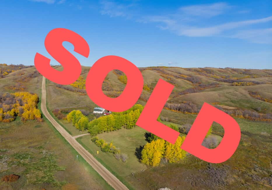 SOLD! 40.81 Acres in The Valley Near Craven, SK