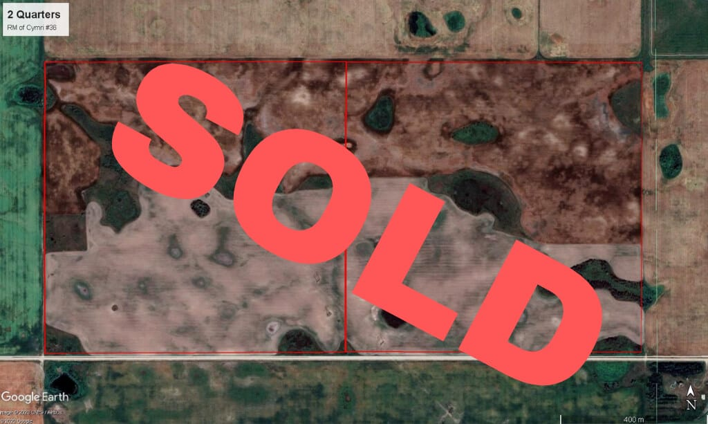 SOLD! 320 Acres Near Macoun, SK