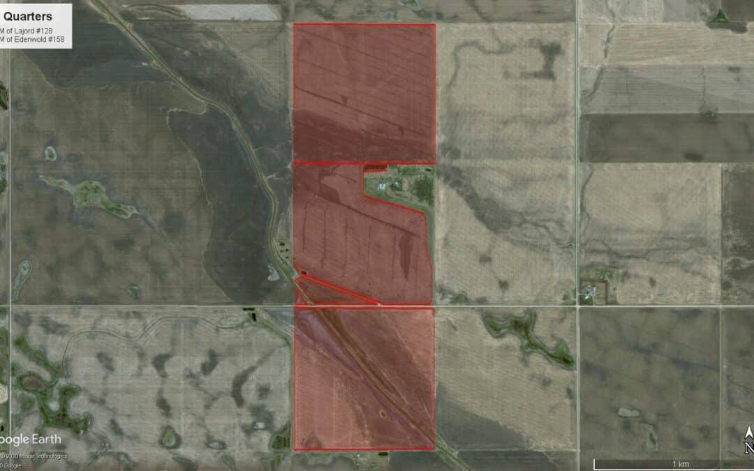 453 Contiguous Acres of Premium Farmland Near Regina, SK & Kronau, SK