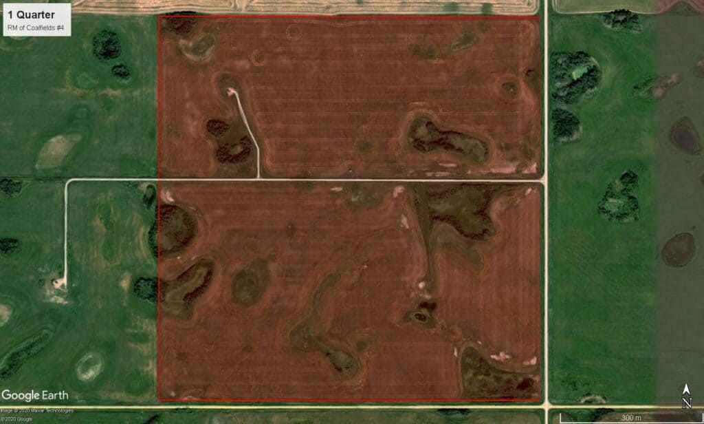NEW LISTING – 159 Acres Near Frobisher, SK