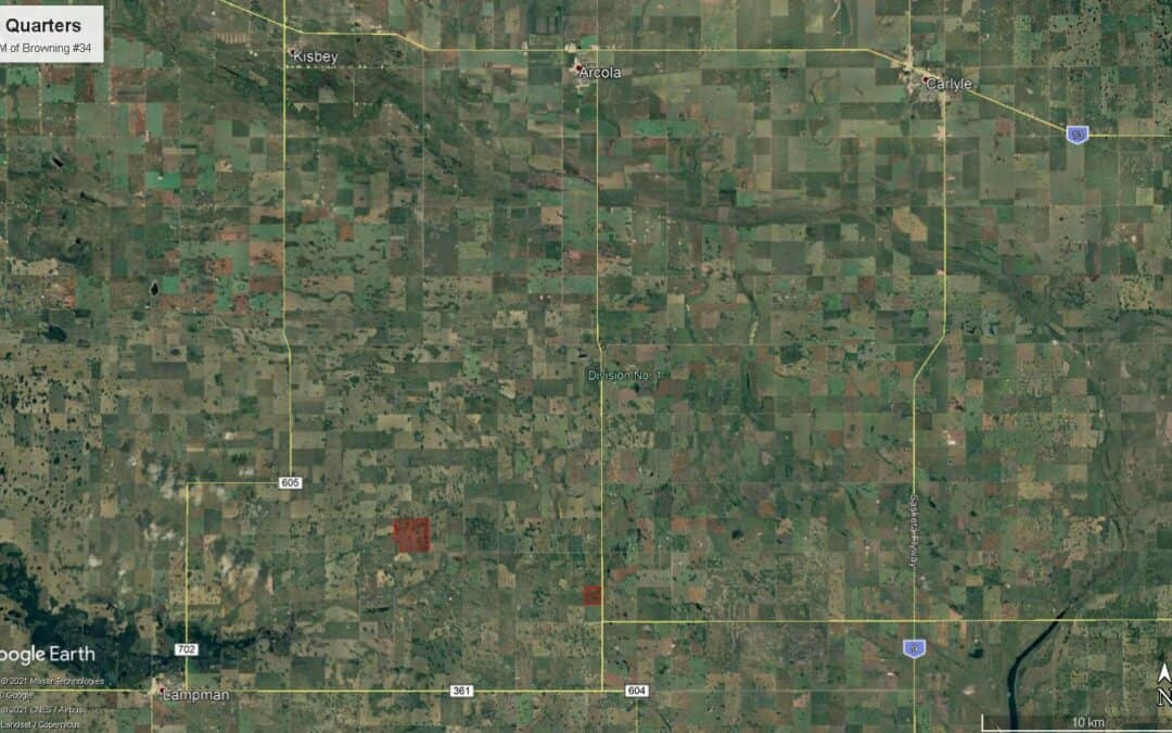 NEW LISTING – 751.44 Acres Near Lampman, SK