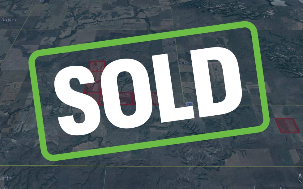 SOLD – 9 quarters near Big Beaver, SK in the RM of Happy Valley #10!
