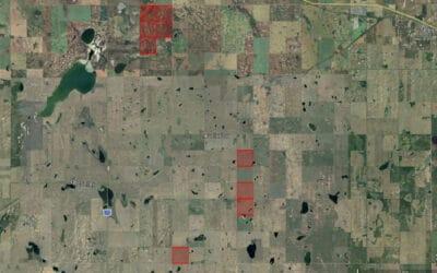NEW LISTING – 1,427.04 Acres Near Pennant, SK!