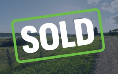 SOLD – 18 Acres Overlooking Buffalo Pound Lake, SK!