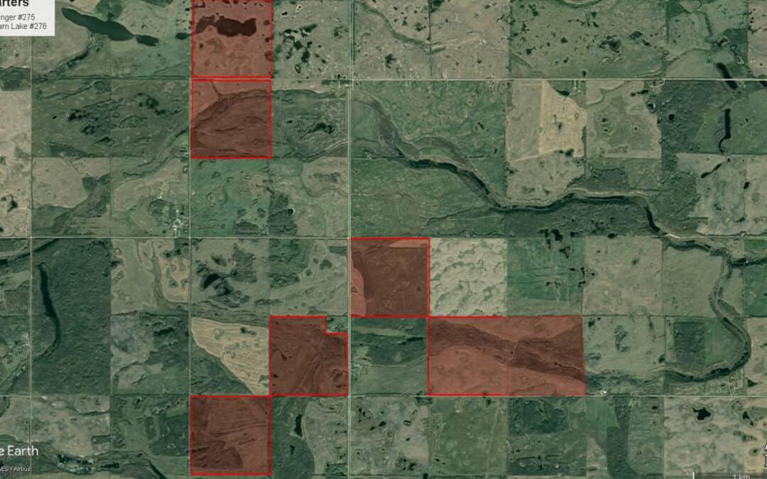 NEW LISTING – 1,104.62 Acres Near Sheho, SK!
