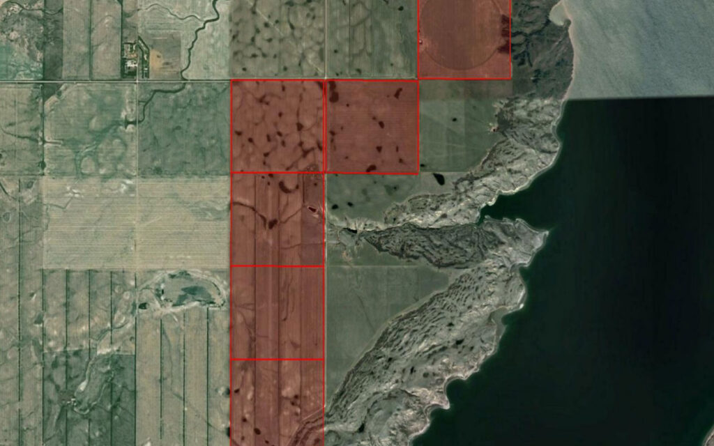 NEW LISTING – 6 Quarters Near Lucky Lake, SK
