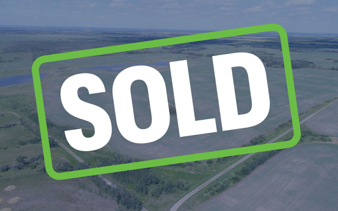 SOLD – 1,105 Acres Near Sheho, SK!